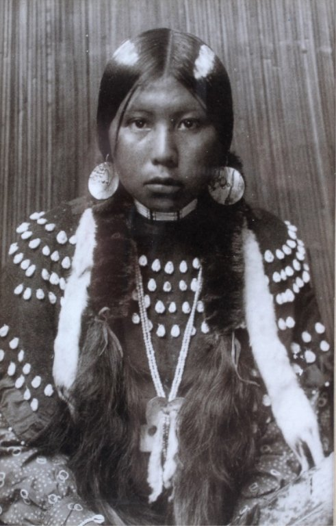 Dusty Dress by Edward S. Curtis Kalispell, Montana