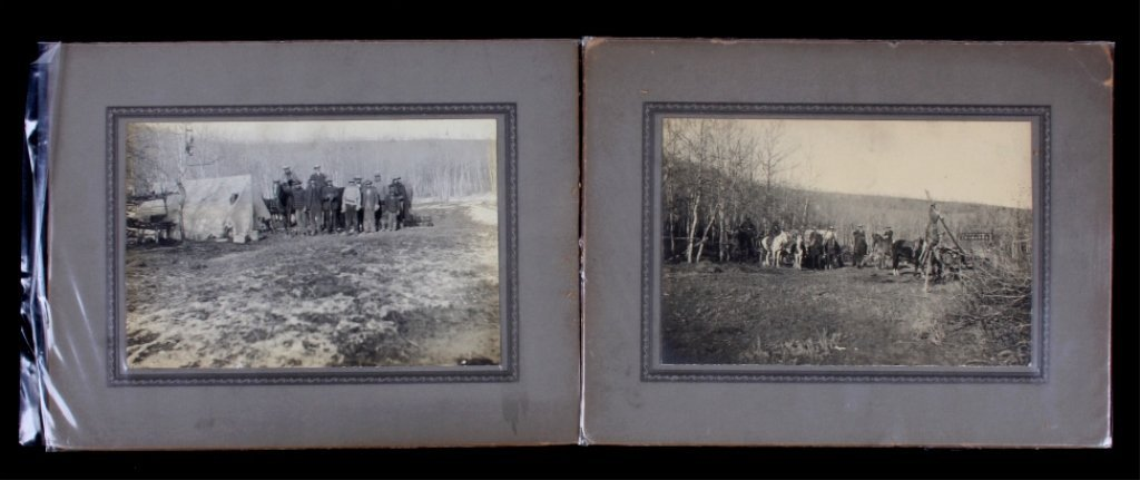 1899 Yellowstone Photographs The lot features two