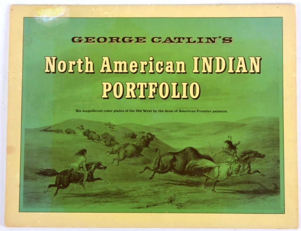 G. Catlin's North American Indian Portfolio Prints