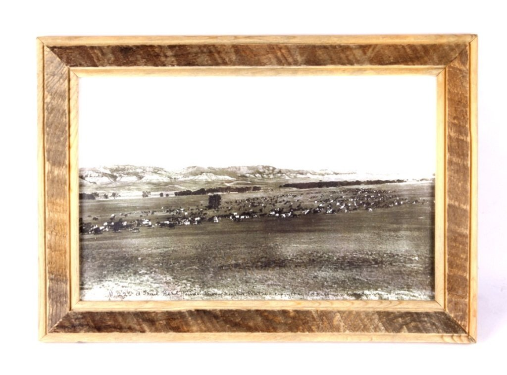 L.A. Huffman Print from 1886 Photograph