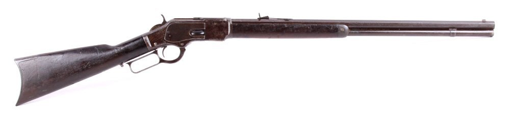 Winchester Model 1873 38 WCF Lever Action Rifle Th