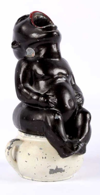 Black Americana Crying Baby Ashtray This Is A Blac