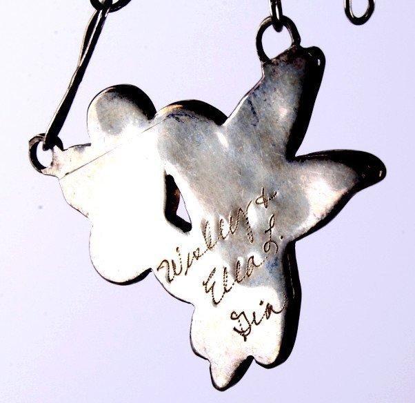 Zuni Inlaid Hummingbird Jewelry - 7