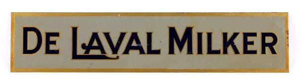 De Laval Milker Double Sided Sign