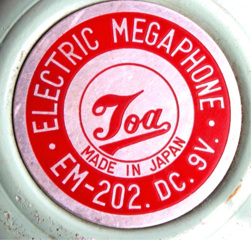 Vintage Toa Electric Megaphone - 10