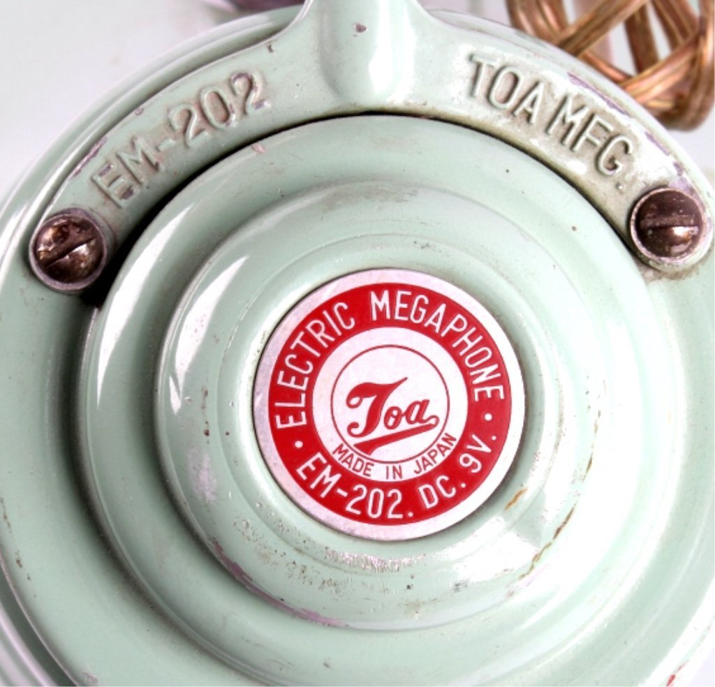 Vintage Toa Electric Megaphone - 9