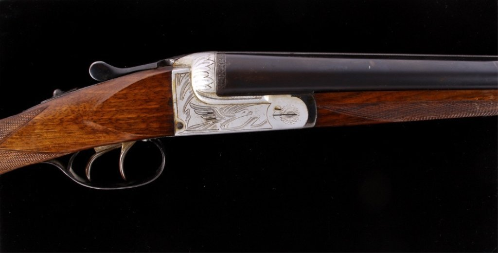 Gaspar Arizaga Double Barrel 20 Ga Shotgun 1920