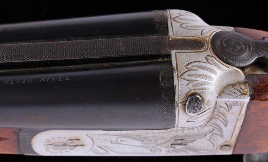 Gaspar Arizaga Double Barrel 20 Ga Shotgun 1920 - 9