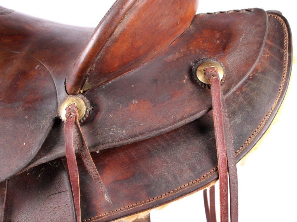 Fred Mueller Saddle Denver, Colorado circa 1915 - 5