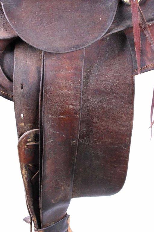 Fred Mueller Saddle Denver, Colorado circa 1915 - 8