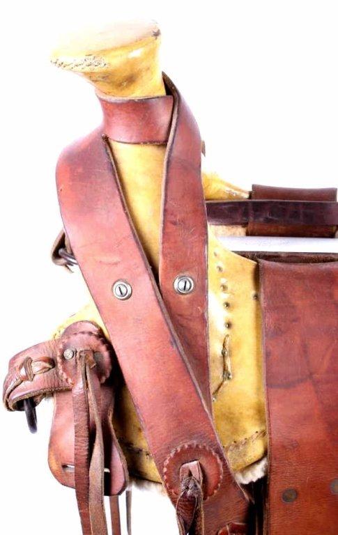 Santa Fe Mountain Man Montana Saddle - 4