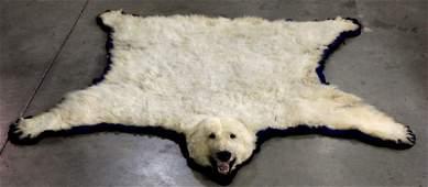 Polar Bear Rug by Jonas Brothers 1965 RARE
