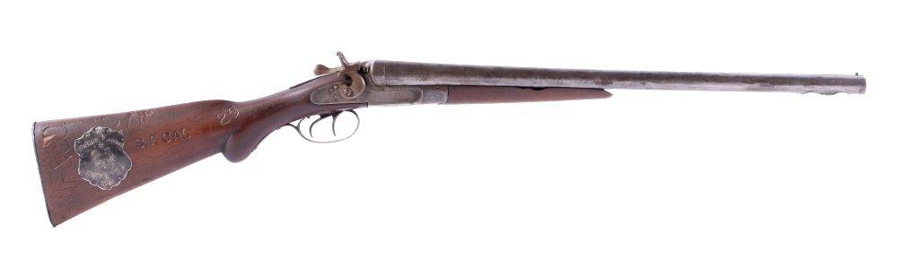1892 Wells Fargo Express Double Barrel Shotgun The