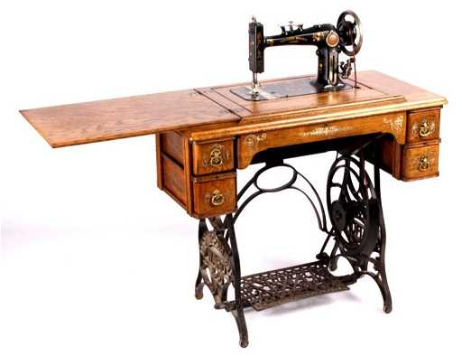 Antique Montgomery Ward Treadle Sewing Machine Thi Inspiration How Much Is A Singer Sewing Machine Table Worth