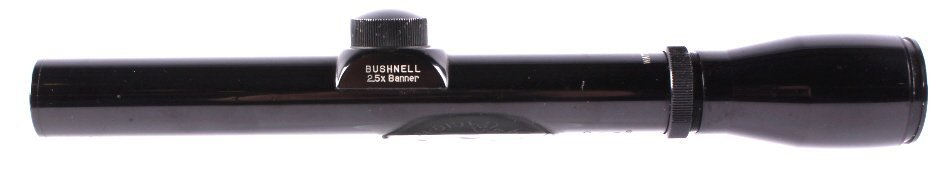 """Bushnell 2.5x20 """"Banner"""" Scope This lot features a"""
