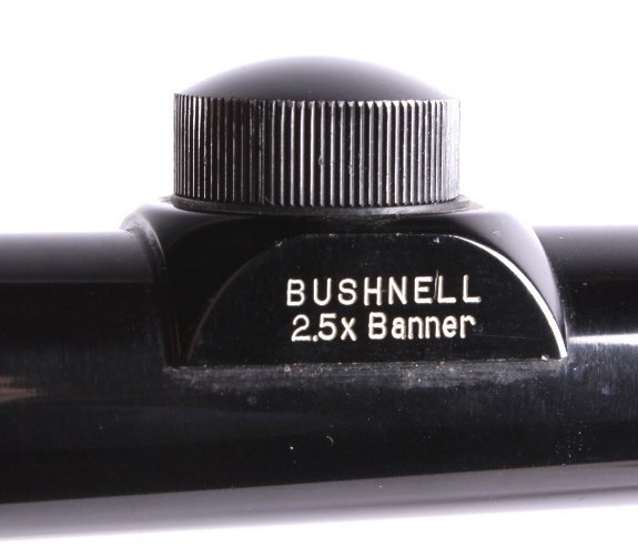 """Bushnell 2.5x20 """"Banner"""" Scope This lot features a - 2"""