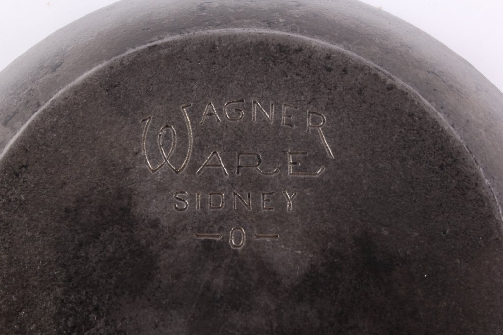 Wagner Cast Iron Chef Skillets This lot includes a - 10
