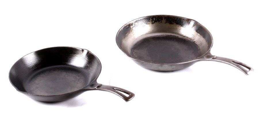 Wagner Cast Iron Chef Skillets This lot includes a