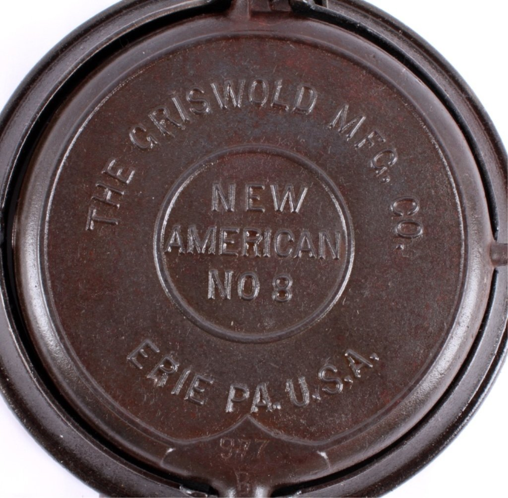 Griswold New American No. 8 Waffle Iron This is an - 4