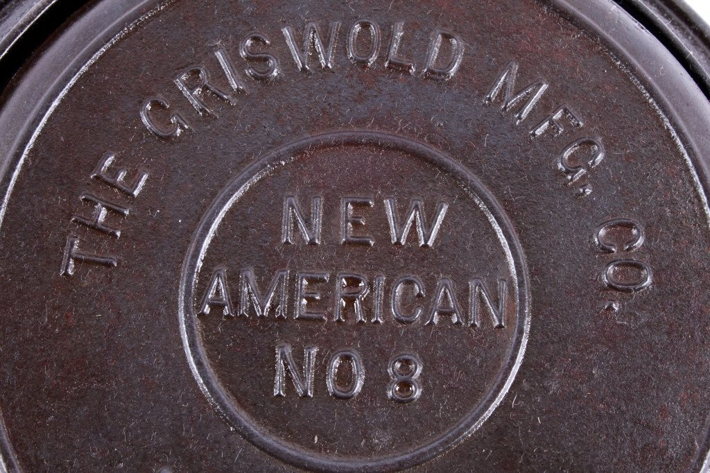 Griswold New American No. 8 Waffle Iron This is an - 5