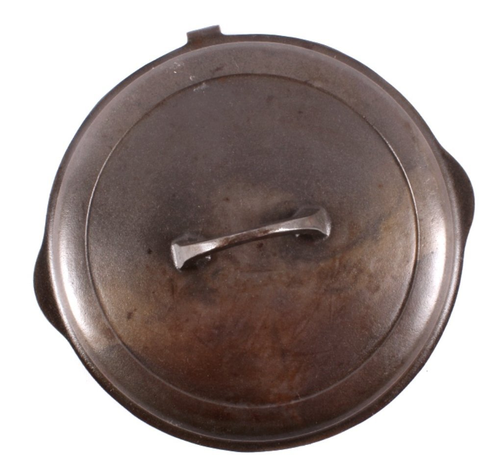 "Griswold Cast Iron ""No. 8"" Skillet with Hinged Lid - 10"