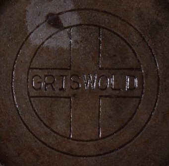 "Griswold Cast Iron ""No. 8"" Skillet with Hinged Lid - 2"