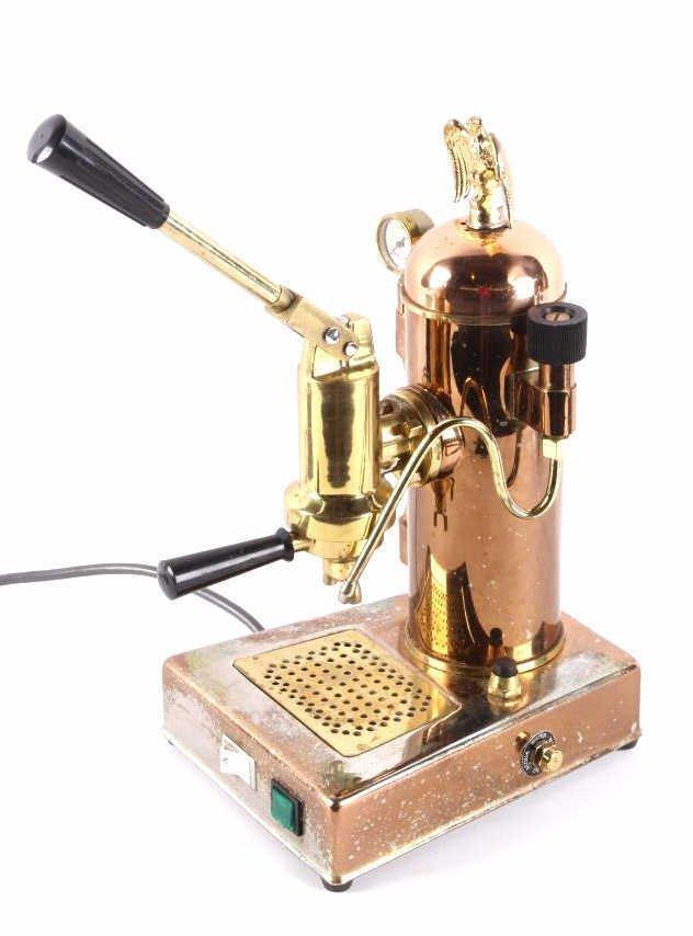Riviera Eagle Copper Espresso Machine This is an o