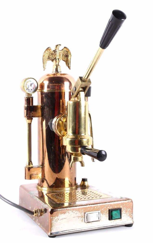 Riviera Eagle Copper Espresso Machine This is an o - 5