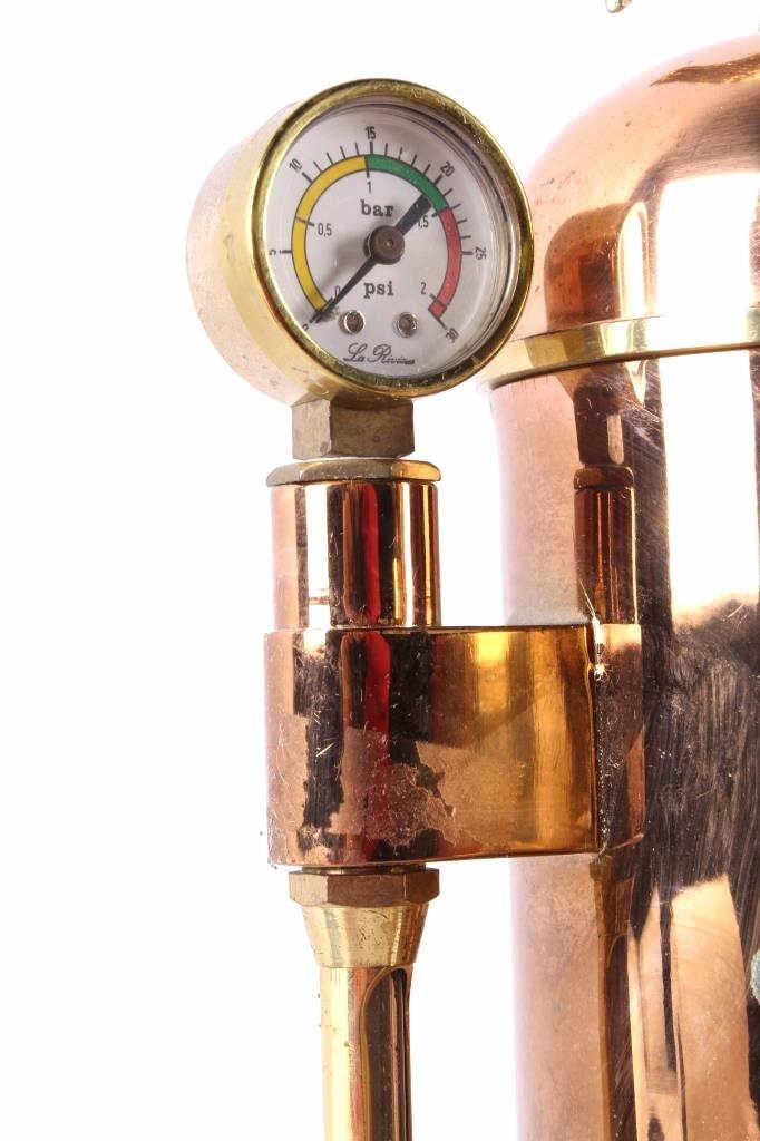 Riviera Eagle Copper Espresso Machine This is an o - 7