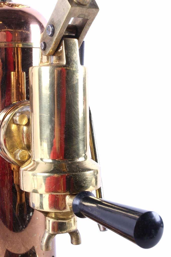 Riviera Eagle Copper Espresso Machine This is an o - 8