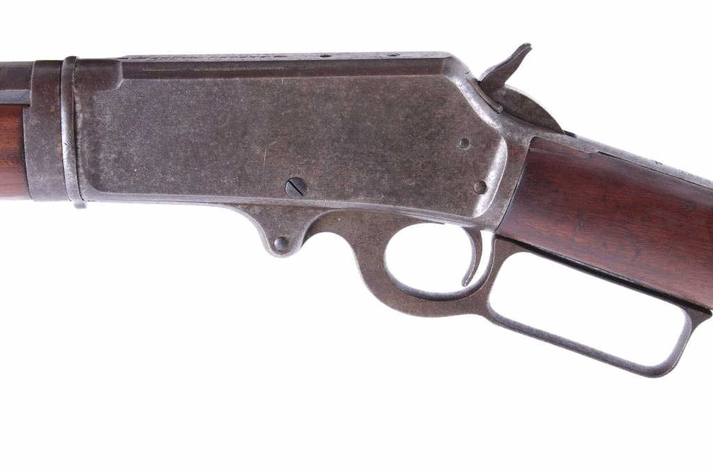 Marlin Safety Model 1893 .25-36 M Lever Rifle This - 9
