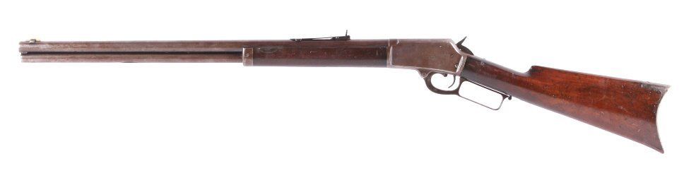 Marlin Safety Model 1889 .44-40 W Lever Rifle This - 3