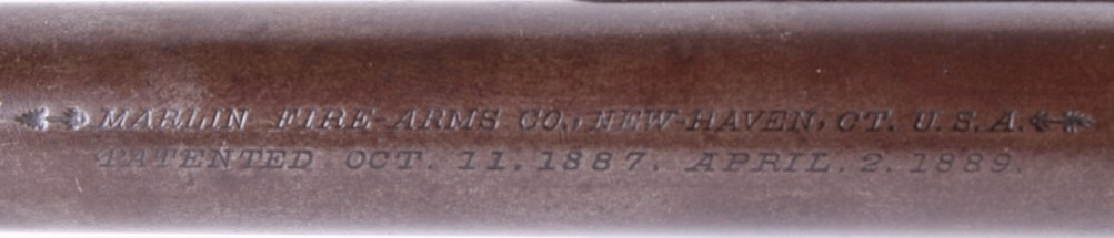 Marlin Safety Model 1889 .44-40 W Lever Rifle This - 7