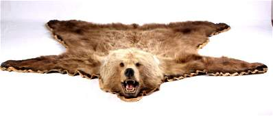 Kodiak Grizzly Bear Rug This is an Alaska taken Ko