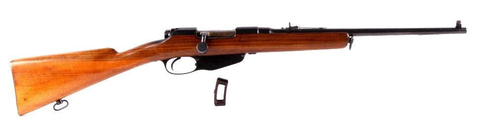 Steyr 1900 Dutch Mannlicher M1895 Rifle The lot fe