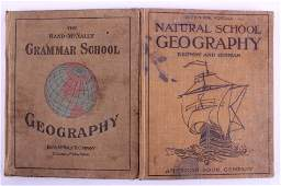 Geography School Books This is a pair of geography