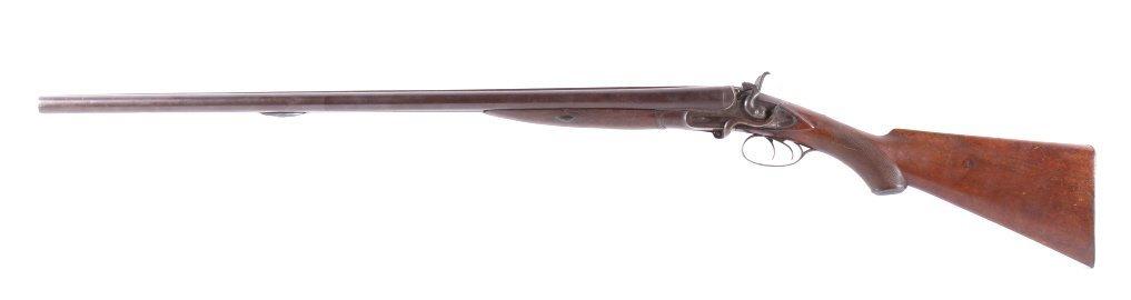 WM Moore & Co Double Barrel Engraved Shotgun The l - 4