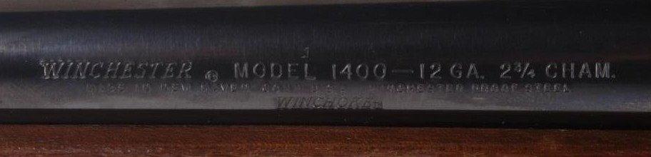 Winchester Model 1400 MK II 12 GA Shotgun This is - 7