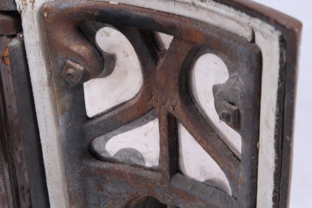 French Godin Petit Coal Stove Cast & Enamel This i - 10