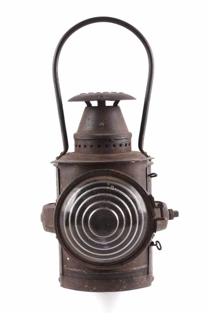 Adlake Railroad Semaphore Lamp Lantern This is an - 10