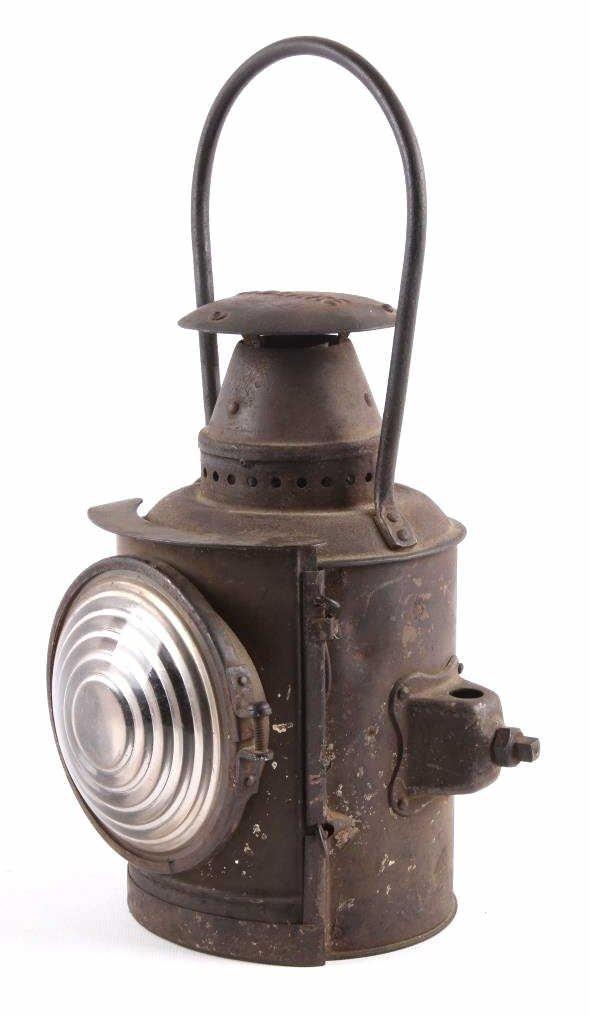 Adlake Railroad Semaphore Lamp Lantern This is an
