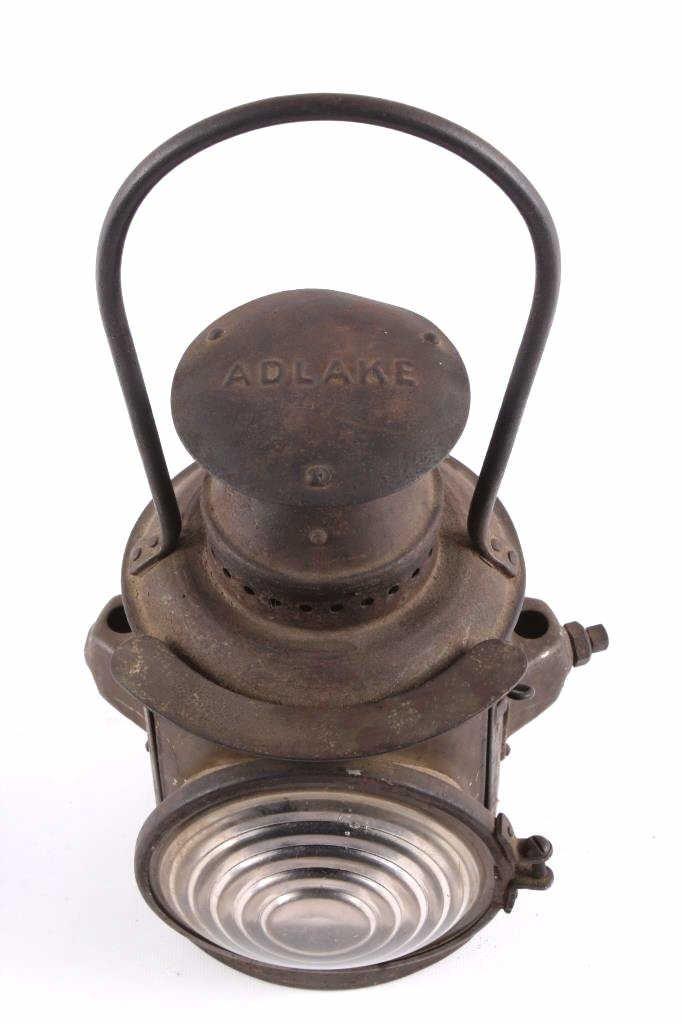 Adlake Railroad Semaphore Lamp Lantern This is an - 3