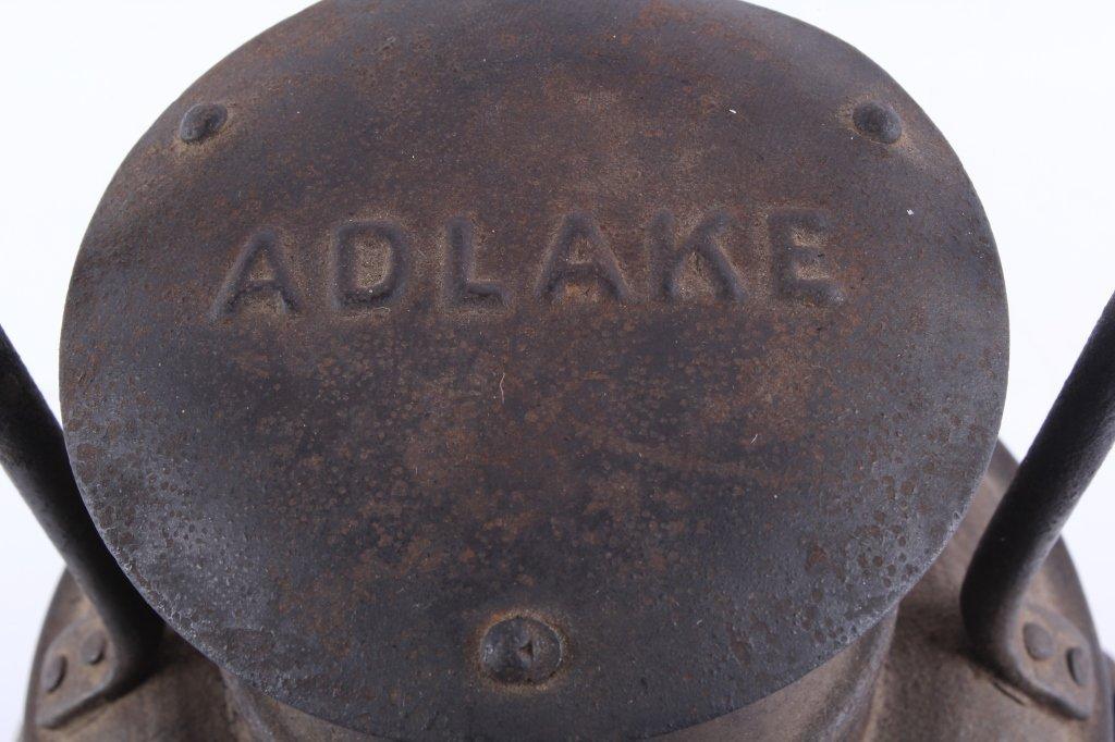 Adlake Railroad Semaphore Lamp Lantern This is an - 4
