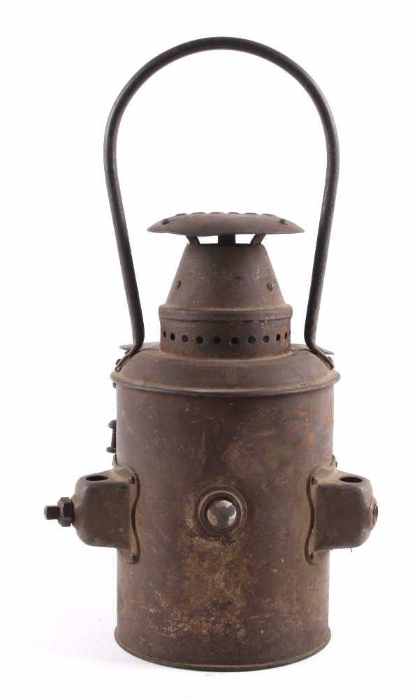 Adlake Railroad Semaphore Lamp Lantern This is an - 6