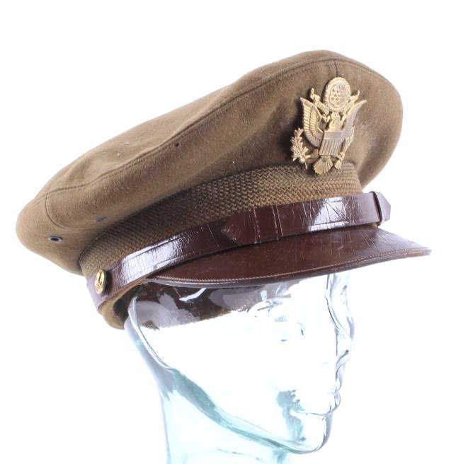 WWII US Cavalry Officers Cap This is a United Stat