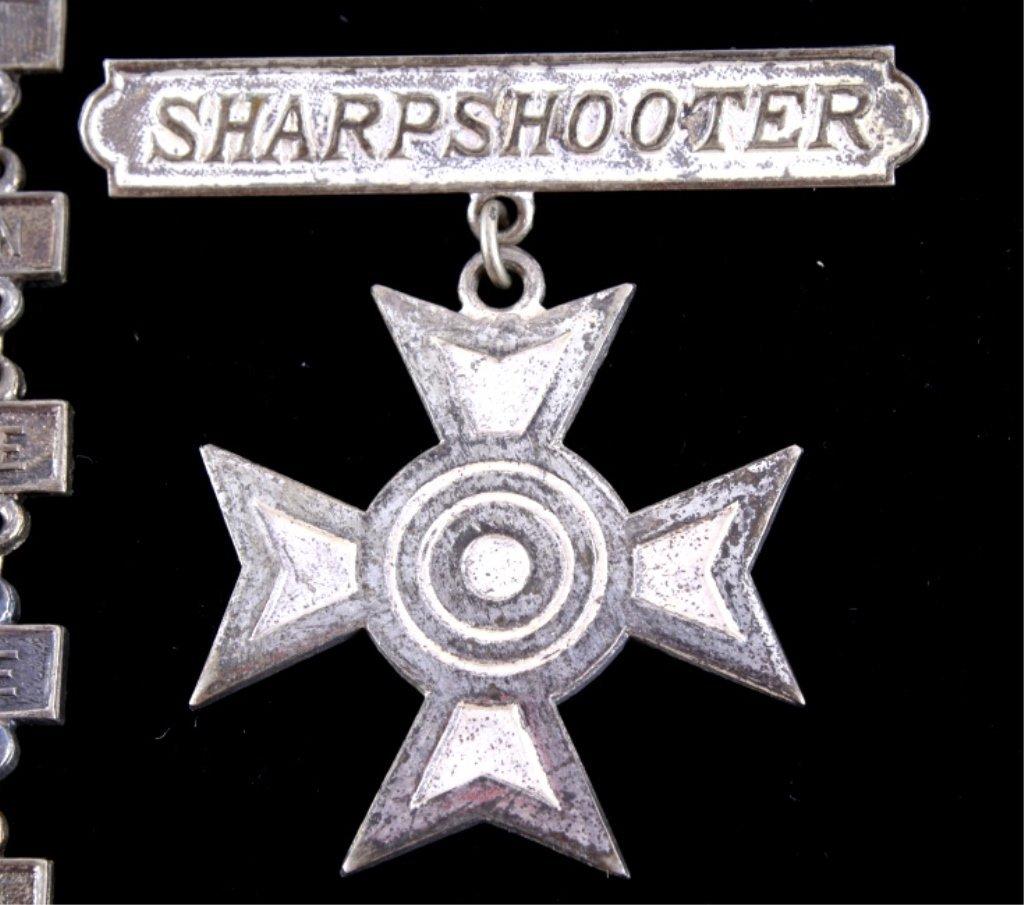 WWII USMC Expert Rifleman Pistol & Sharpshooter Th - 5