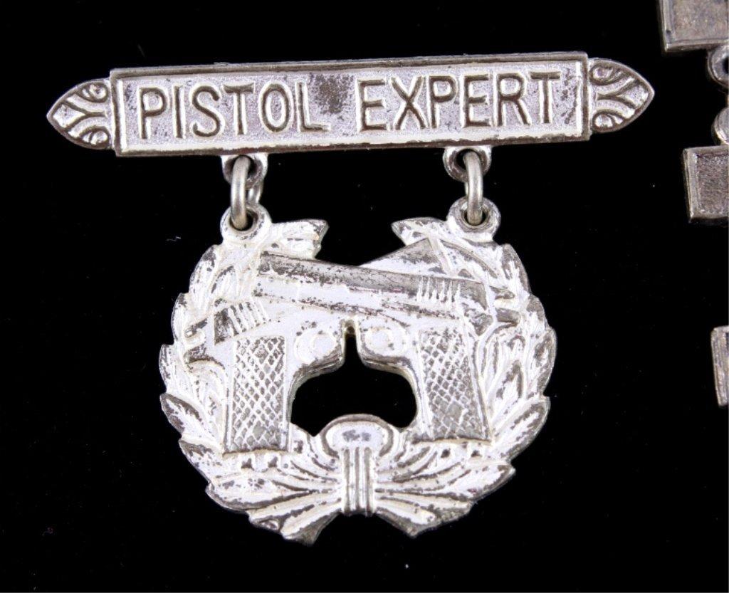 WWII USMC Expert Rifleman Pistol & Sharpshooter Th - 6