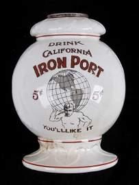 California Iron Port Syrup Dispenser circa 1880 Th