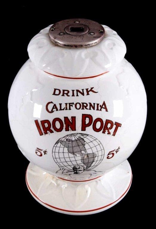 California Iron Port Syrup Dispenser circa 1880 Th - 2