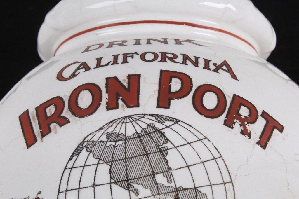 California Iron Port Syrup Dispenser circa 1880 Th - 9